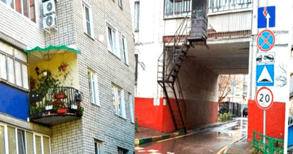 Самые уникальные балконы в мире — наши. 16 фото доказательств