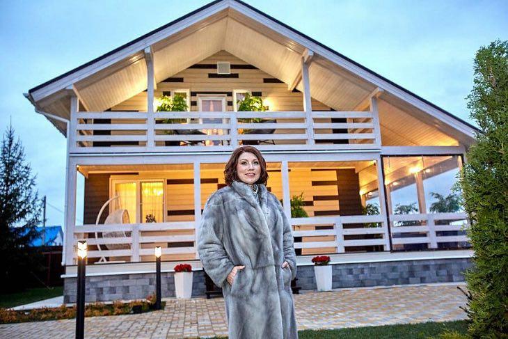 Неимоверная роскошь наших знаменитостей: шестиэтажные дома