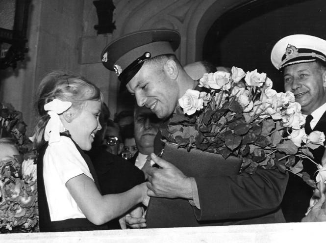 Исторический визит Юрия Гагарина в Великобританию