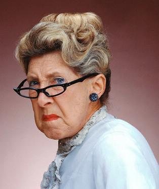 Вредная баба Катя