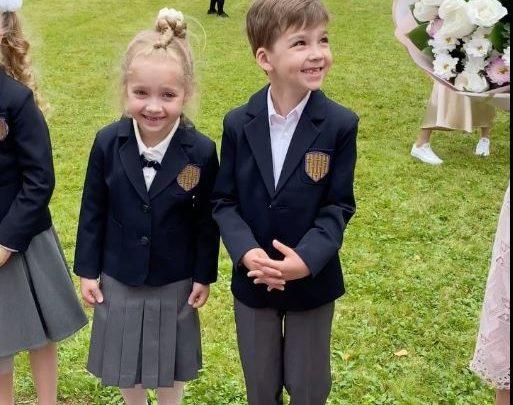 Максим Галкин показал школу, в которой будут учиться Лиза и Гарри